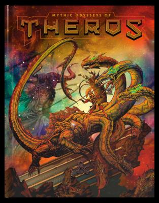 MYTHIC ODYSSEYS OF THEROS / Alternate Art Cover
