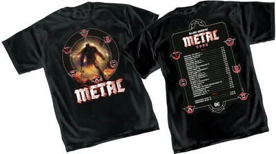 Dark Knights: Metal T-shirt Large