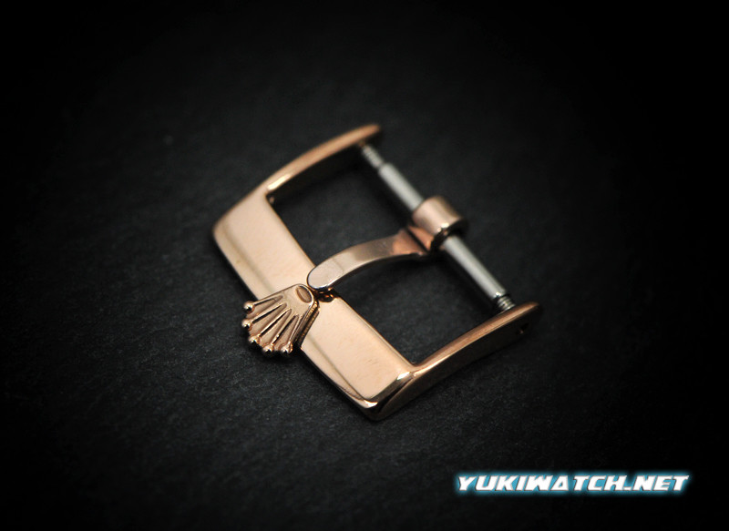RoIex 16mm Rose Gold Plate Buckle
