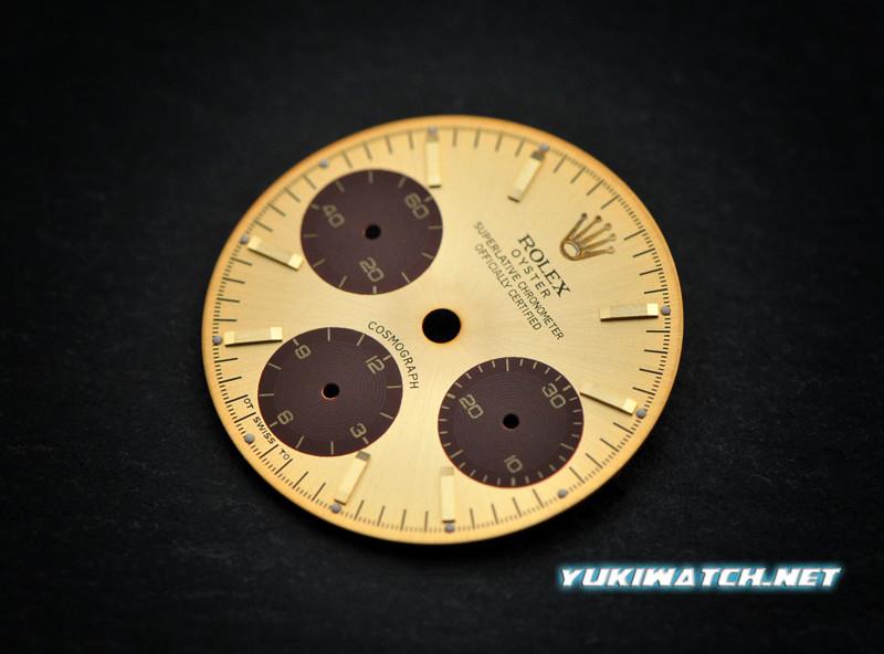 Daytona Gold SIGMA 6263 Dial brown eye