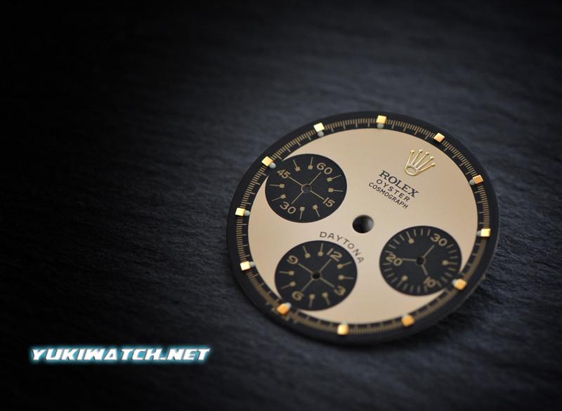 Daytona Gold Paul Newman 6263 dial