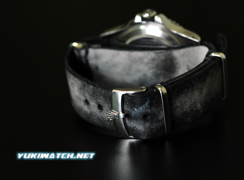 Rolex NATO speical vintage Mars Black strap