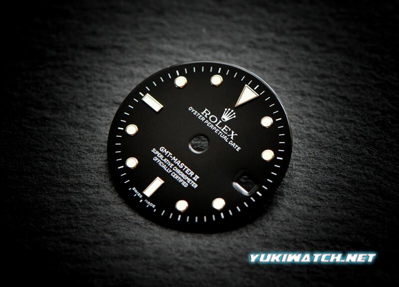 GMT Master II 16710 ETA dial
