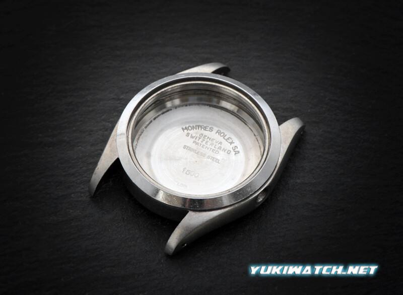 Original used Rolex 1500 case 02