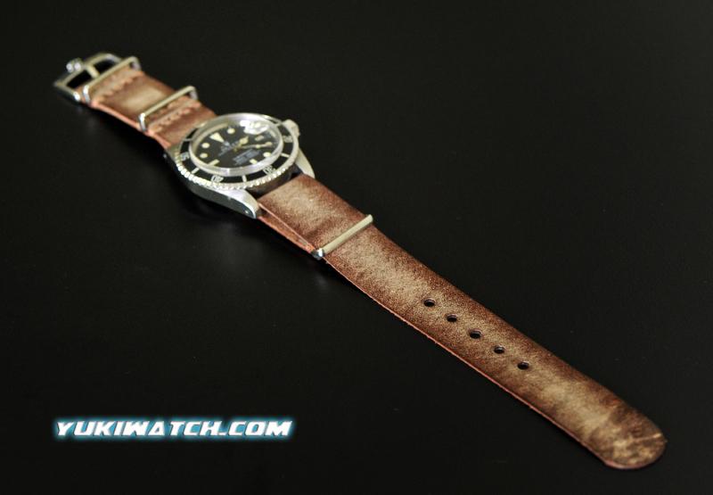 Rolex NATO speical vintage coffee strap