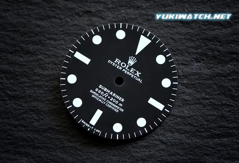 Submariner 5512 white lume matt dial