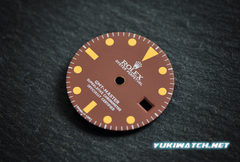 GMT Master 1675 Chocolate Matt dial