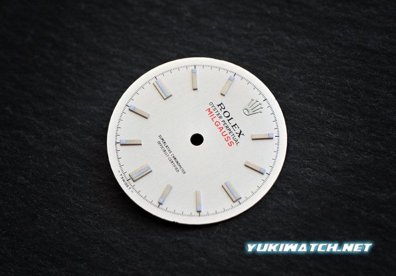 Milgauss 1019 silver wht lume dial