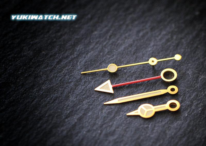 GMT 1675 Golden hand set