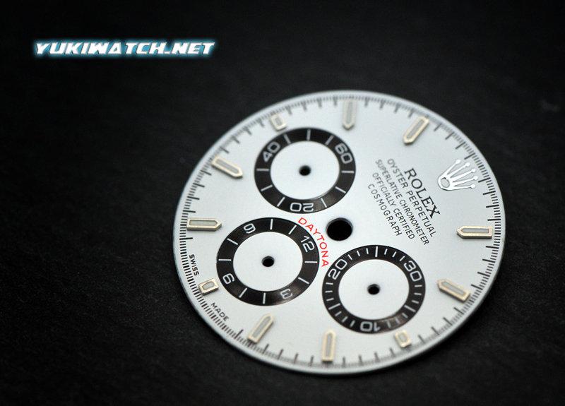 Daytona 16520 white dial