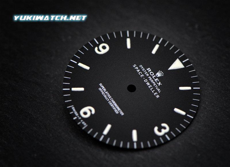 Space-Dweller 1016 matt wht lume dial