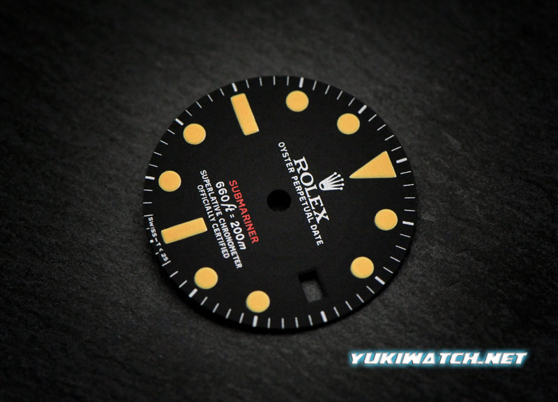 Submariner 1680 Red dial