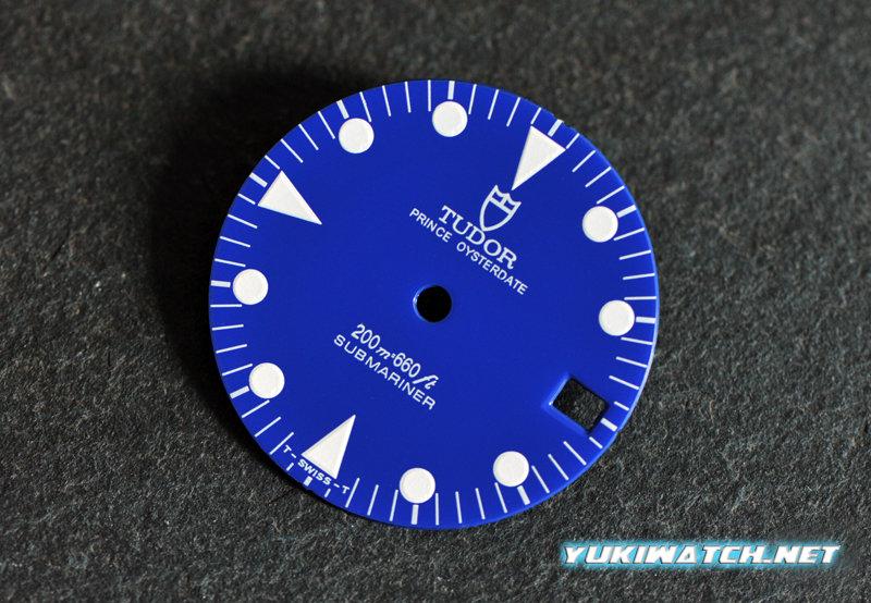 Tudor Sub 79090 Blue gloss dial