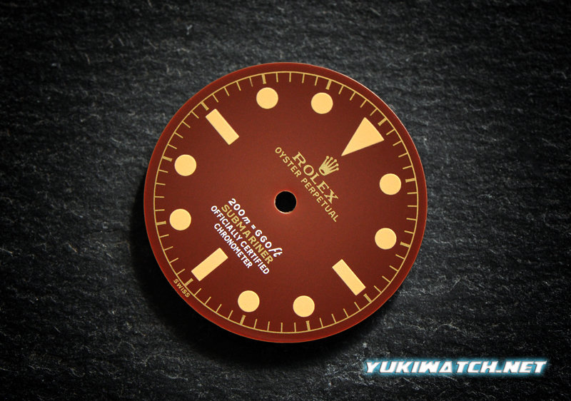 Submariner 6538 gloss chocolate dial