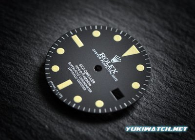 Sea-Dweller 16660 matt dial