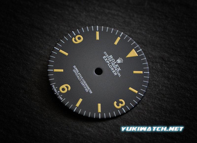 Explorer I 1016 matt dial