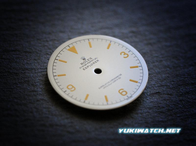 Explorer I 1016 white gloss dial