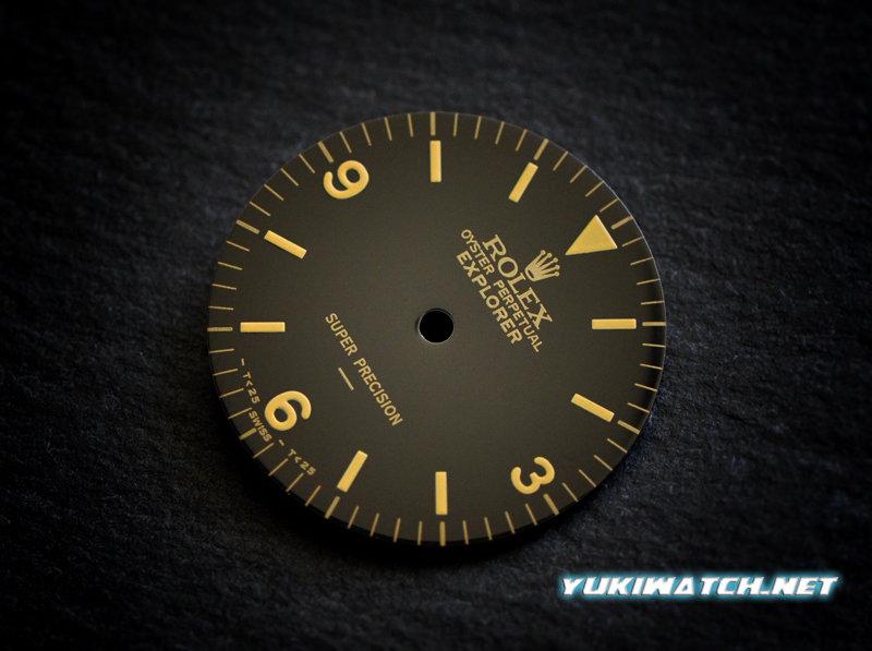 EXI 5500 underline black dial
