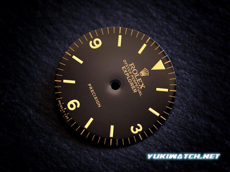 Explorer I 5500 gloss dial