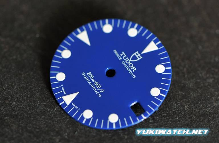 Tudor Sub 79090 Blue gloss dial Ver 2