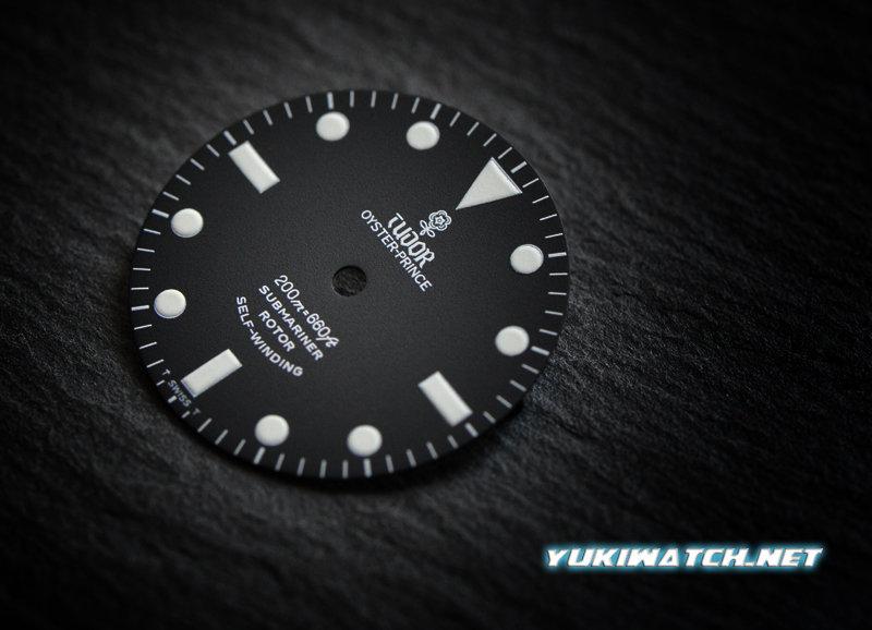 Tudor Submariner 7928 matt wht lume dial