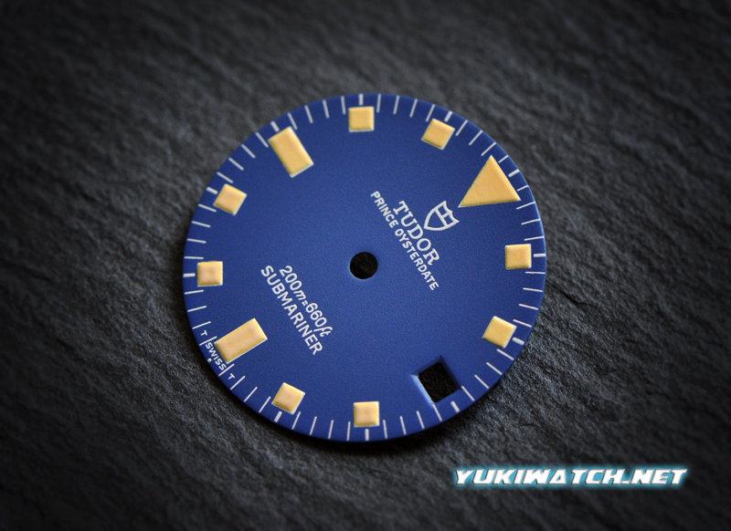 Tudor Submariner date 9411 blue dial