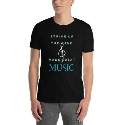Short-Sleeve Men's T-Shirt - Make Great Music