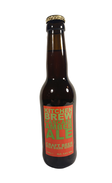 KitchenBrew Cascade Amber Ale (Sixpack)