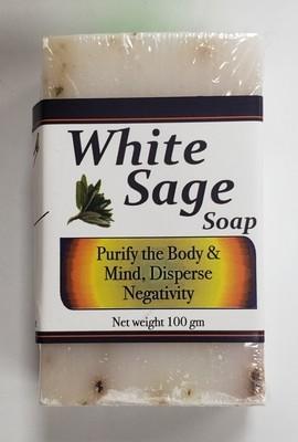 White Sage Bar Soap 100 grams