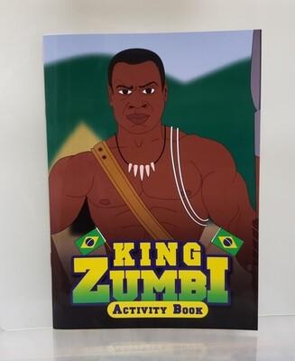 Black Activity Book KING ZUMBI