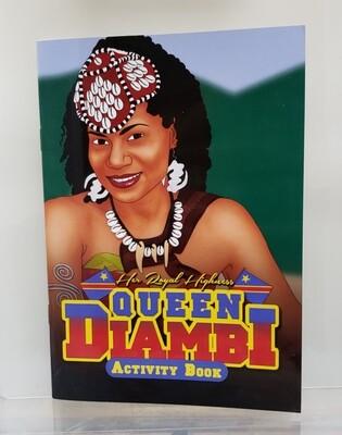 Black Activity Book QUEEN DIAMBI