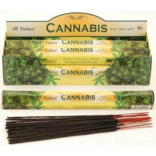 Tulasi Cannabis Incense Pack- 20 sticks