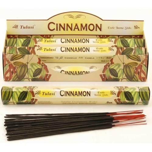 Tulasi Cinnamon Incense Pack- 20 sticks