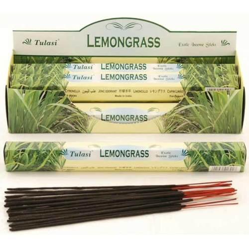 Tulasi Lemongrass Incense Pack - 20 sticks