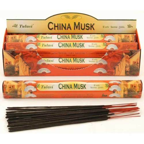 Tulasi China Musk Incense Pack - 20 sticks