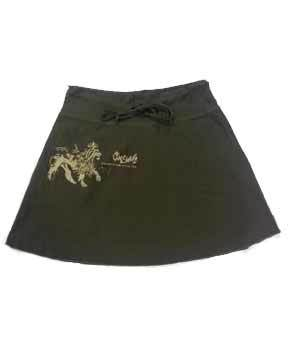 Cooyah Dark Brown Ladies Skirt