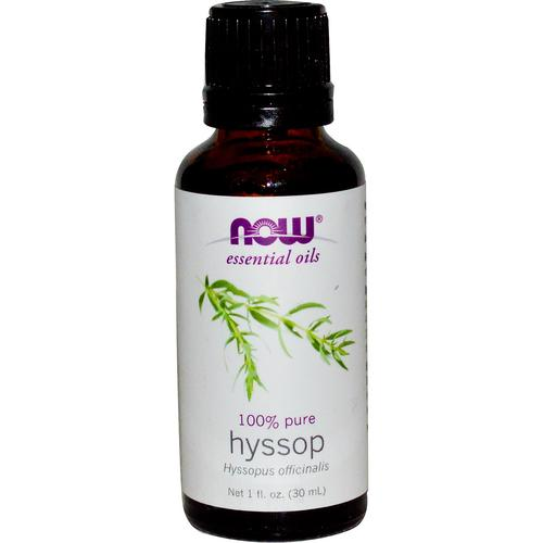 Now Essential Oils-Hyssop 100% Pure Oils 1 fl.oz