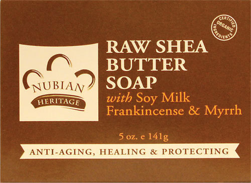 Nubian Heritage Raw Shea Butter Soap - 1 Case (72 Bars)