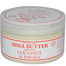 Nubian Heritage Coconut and Papaya 4oz Infused Shea Butter