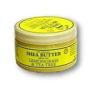 Nubian Heritage Lemongrass & Tea Tree Infused Shea Butter 4oz