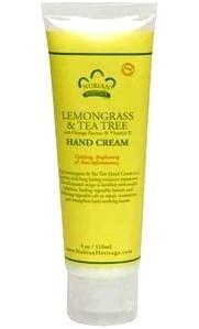 Nubian Heritage Lemongrass & Tea Tree Hand Cream 4oz