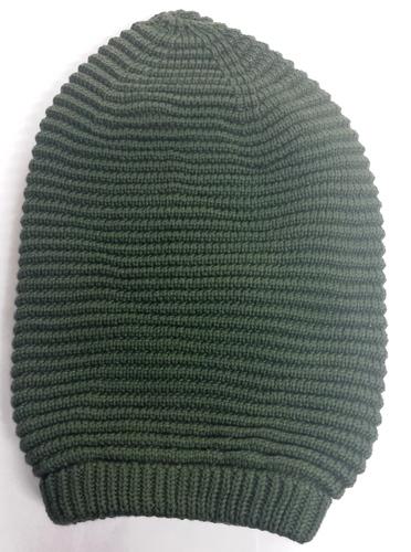 Olive Green Tam (Heavy Knit)