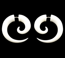 Small Bone Earrings
