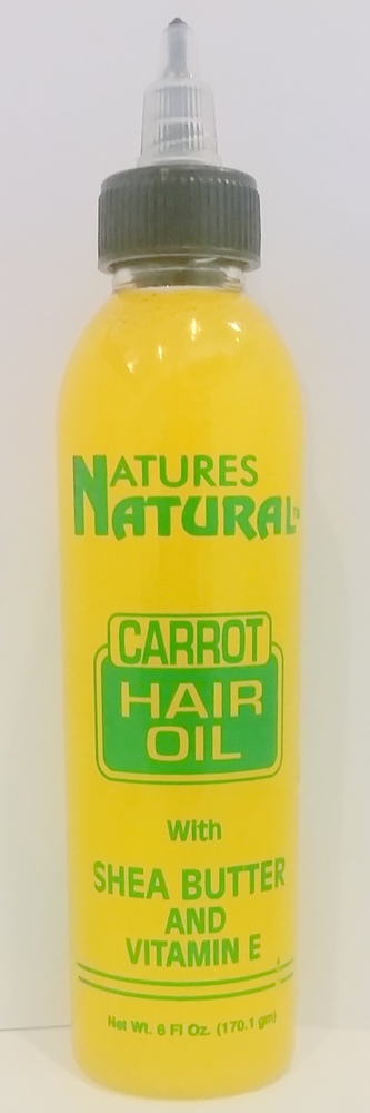 Natures Natural Carrot Hair Oil with Shea Butter
