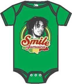 Marley Smile Jamaica Onesie