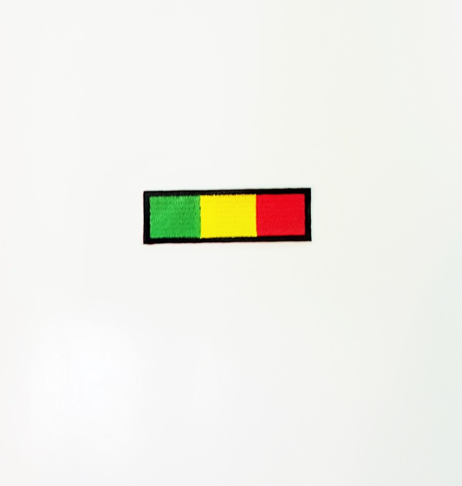 Small Green, Yellow, and Red Patch