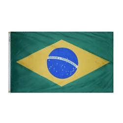 Brazil Flag 3' x 5' Foot Flag