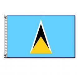 St.Lucia 3' x 5' Foot Flag