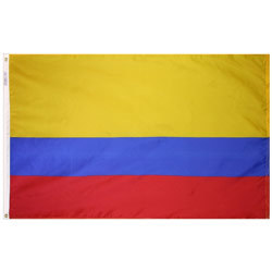 Colombia 3' x 5' Foot Flag