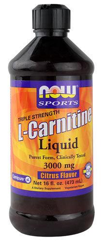 L-Carnitine Liquid Citrus Flavor 3000 mg, 16oz